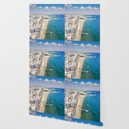 Larnaca Finikoudes Coast Wallpaper