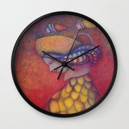 Nido vacío Wall Clock