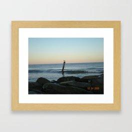 OceanCity Framed Art Print