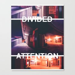 Divided Attention - Perspective Play Canvas Print
