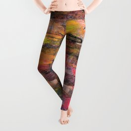 Sunset Pond Leggings