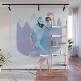 Year of the Yeti Wall Mural