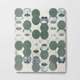 Minimalist art, Scandinavian art, geometric print, nordic design, minimalist wall art, simple art, p Metal Print