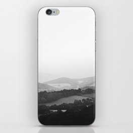 Hill Mist - Black and White Collection iPhone Skin