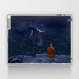 La preciosa mente de un monje - The beautiful mind of a monk Laptop & iPad Skin