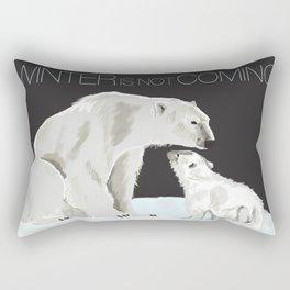 winter is not coming Rectangular Pillow