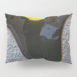 Liquorice Horizon - Glass Art Pillow Sham