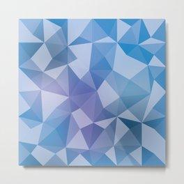 Geometric pyramids V2 Metal Print