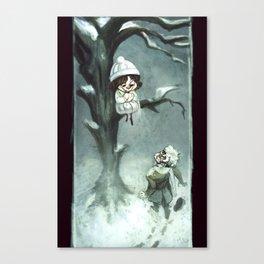 Snowfelt Canvas Print