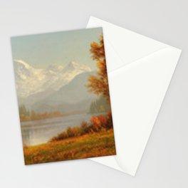 Albert Bierstadt - Mount Baker, Washington Stationery Cards