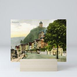 1900 Cochem Mosel Moselle Mini Art Print