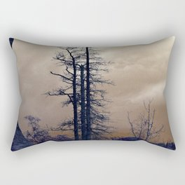 Dead Tree At Needles Highway Rectangular Pillow