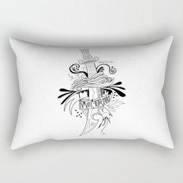 Symbolic Sword Rectangular Pillow