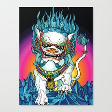 SNOWLION Canvas Print