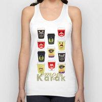 emoji Tank Tops featuring Karak emoji by glance_qtr