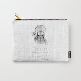 Cheyenne - All Cultures Share the Same Fate Eventually Carry-All Pouch