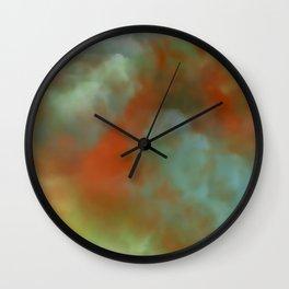 Anal Leakage Wall Clock