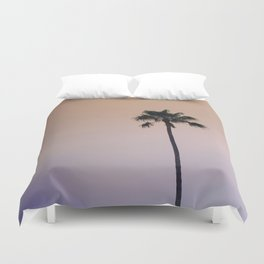 One Night One Palm Tree Duvet Cover