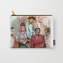 GOOD TIMES (pen sketch tribute to a classic sitcom) Carry-All Pouch