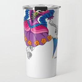 La Calavera Catrina Travel Mug