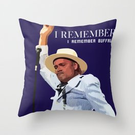 REMEMBER BUFFALO Throw Pillow