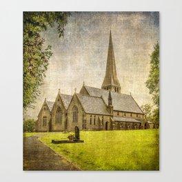 Christ Church, Healey  Canvas Print