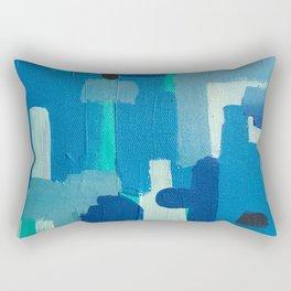 basketweaving underwater Rectangular Pillow