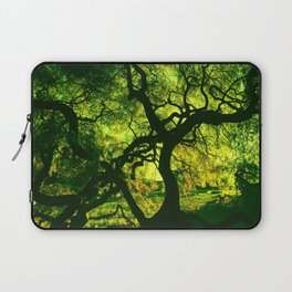 Green is the Tree Laptop Sleeve