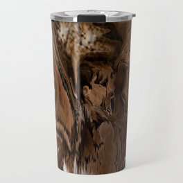 Pioneers Crossed The Harsh stoney and sandy of the desert of California Travel Mug