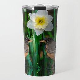 Spring Date Travel Mug