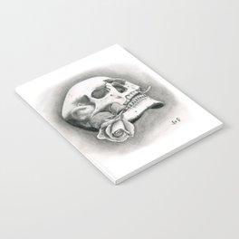 Skull & Rose Notebook