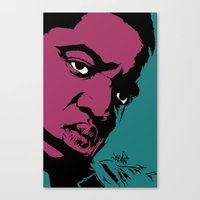 notorious Canvas Prints featuring Notorious by Vee Ladwa