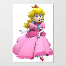 PrincessPeach Canvas Print