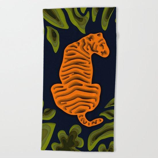 Deep in the Jungle Beach Towel