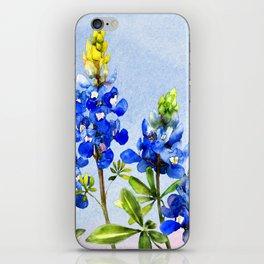 Bluebonnets 1 iPhone Skin