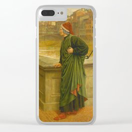 Henry Holiday - Dante And Beatrice Clear iPhone Case