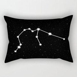 Aquarius Astrology Star Sign Rectangular Pillow