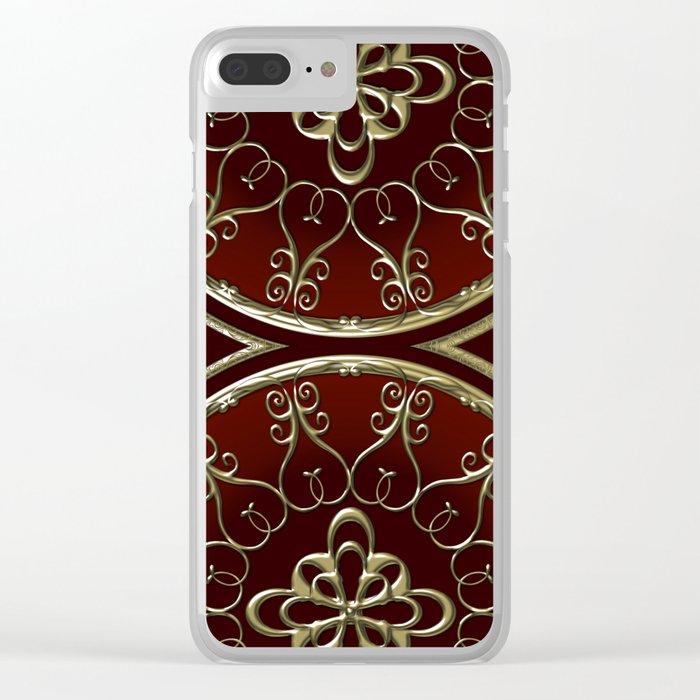 Golden Treasure of Nemo Clear iPhone Case