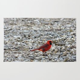 Little Red Friend Rug