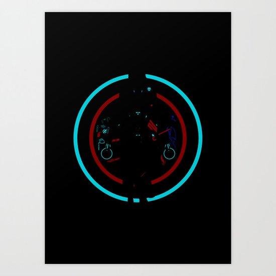 Tron Legacy Art Print
