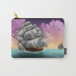 Rigged Ships Carry-All Pouch