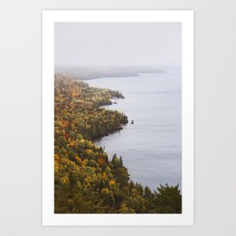 Bare Bluff | Copper Harbor, Michigan | John Hill Photography Art Print