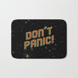 Don't Panic! Pixel Art Bath Mat