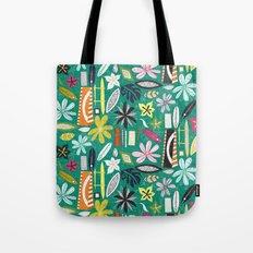 beachy jade Tote Bag