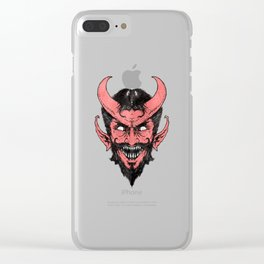 Handsome Devil Clear iPhone Case