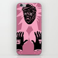 horror iPhone & iPod Skins featuring Horror by Olivier Carignan