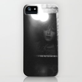 deeply emotional woman iPhone Case