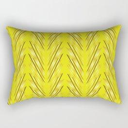 Wheat Grass Yellow Rectangular Pillow