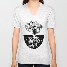 Tree Beard - Bethany Walrond Unisex V-Neck