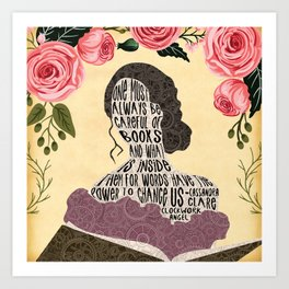 Clockwork Angel - Tessa Gray Art Print